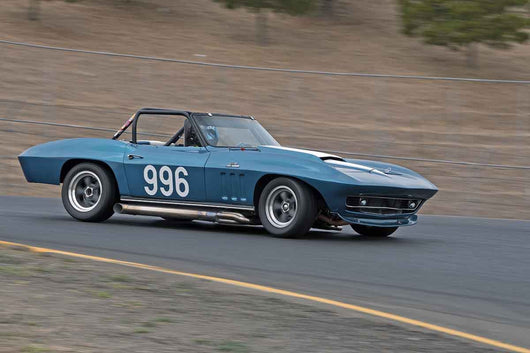 Edward Hugo - 1966 Chevrolet Corvette in Group 3 -  at the 2016 Charity Challenge - Sonoma Raceway