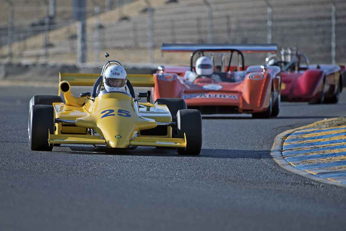 Joe Liebsack - 1984 Ralt RT-4 in Group 7 -  at the 2016 Charity Challenge - Sonoma Raceway