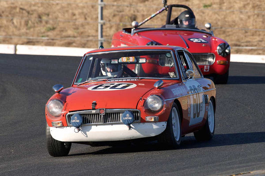 Michael Zbarsky - 1967 MG B GT Sebring in Group 2 -  at the 2016 Charity Challenge - Sonoma Raceway