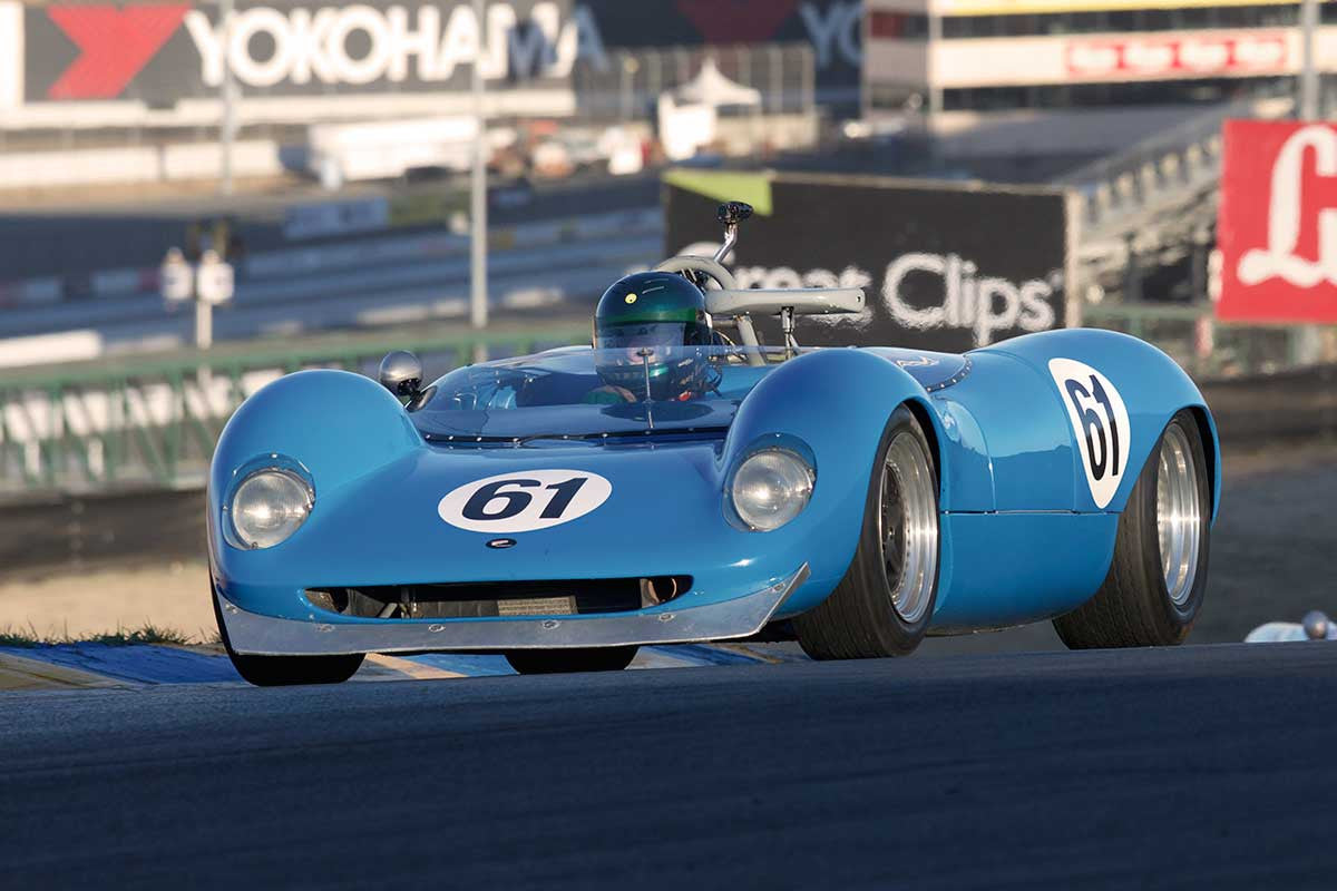 Thomas Byrnes - 1964 Brabham BT-8 in Group 4 -  at the 2016 Charity Challenge - Sonoma Raceway
