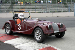 Tom Morgan with 1956 Morgan 4+4 in Group 1/3  at the 2016 Portland Vintage Racing Festival - Portland International Raceway