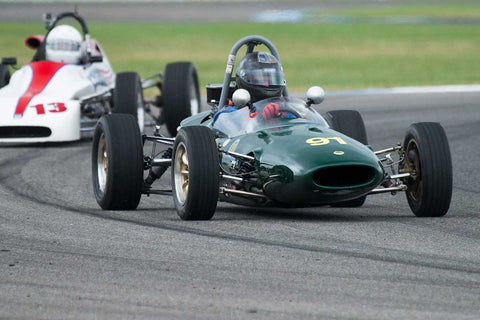 Roland Johnson - 1967 Lotus 51 - Group 2 at the 2017 Brickyard Vintage Racing Invitationalrun at Indianapolis Motor Speedway
