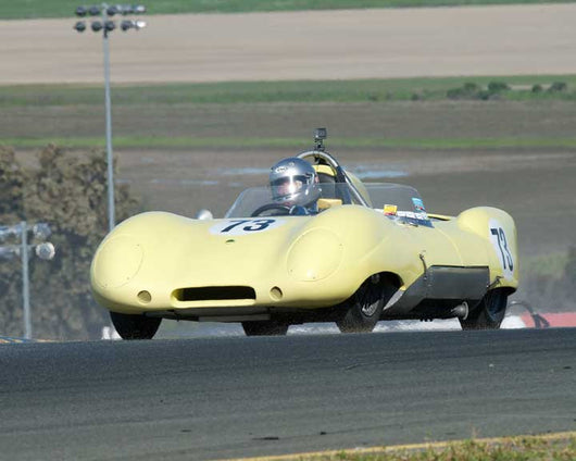 Randy Hill with 1956 Lotus Eleven in Group 9 - at the 2016 CSRG David Love Memorial - Sears Point Raceway