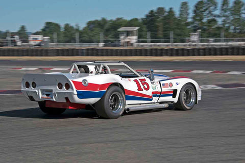 Bradley Briscoe - 1976 Chevrolet Greenwood Corvette in Group 10/12 at the 2017 SVRA Portland Vintage Racing Festivalrun at Portland International Raceway