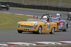 David Sweet - 1962 Austin Healey Sprite in Group 1 at the 2016 SOVREN Columbia River Classic - Portland International Raceway