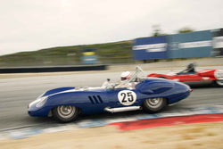 Erickson Shirley - 1959 Lister Costin in Group 1 at the 2017 HMSA Spring Club Event - Mazda Raceway Laguna Seca