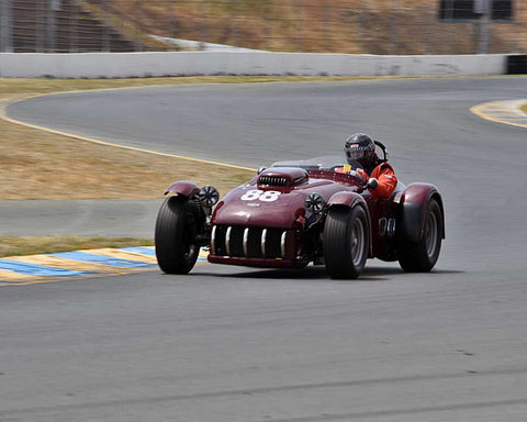 Tom Claridge with 1953 Kurtis 500S in Group 2 - 1946-1955 Sports Racing and Production Cars at the 2015 Sonoma Historic Motorsports Festival at Sonoma Raceway