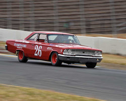 Gene Boyer with 1963 Ford Galaxie in Group 5 - Grand National Stock Cars at the 2015 Sonoma Historic Motorsports Festival at Sonoma Raceway