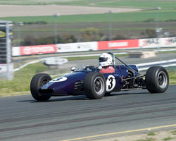 Chris Rose with 1969 Brabham BT29 in Group 6 at the 2016 CSRG David Love Memorial - Sears Point Raceway