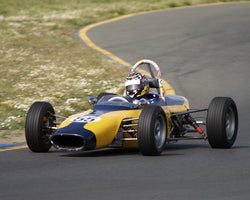 Adom Moutafian driving his 1967 Merlyn MK11A in Group 6 at the 2015 CSRG David Love Memorial Vintage Car Road Races at Sonoma Raceway