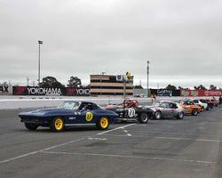 PreGrid for Group 6 - 1962-1972 Production and GT Cars Over 2000cc at the 2015 Sonoma Historic Motorsports Festival at Sonoma Raceway