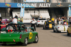 Group 1 at the 2017 Brickyard Vintage Racing Invitationalrun at Indianapolis Motor Speedway
