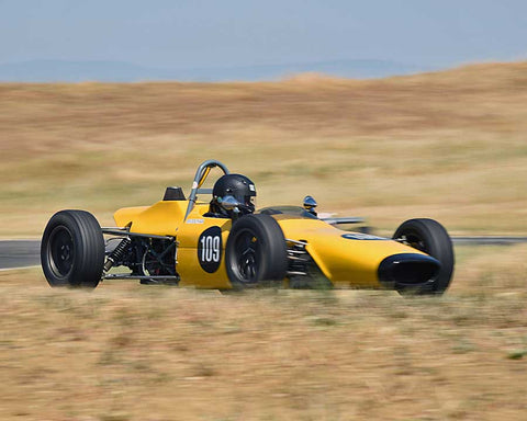 Nicholas Colyvas driving his 1969 Merlyn 11A in Group 6/7 at the 2015 CSRG Thunderhill Rolling Thunder at Thunderhill Raceway