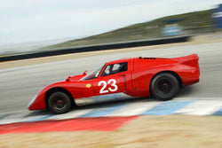 Bob Kullas - 1969 Chevron B16 in Group 4 at the 2017 HMSA Spring Club Event - Mazda Raceway Laguna Seca
