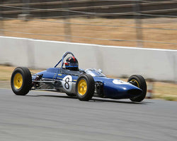 Phillip Ribbs with 1963 Lotus 27 F with Jr in Group 8 - 1956-1963 Formula Junior cars at the 2015 Sonoma Historic Motorsports Festival at Sonoma Raceway
