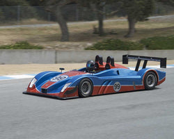 Charles Chi driving his 2013 Caterham SP 300R in Group 3 at the 2015 HMSA LSR Inventional I at Mazda Raceway Laguna Seca