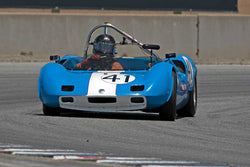 Stevan Dana with 1963 Elva Mk7S in Group 3 -  at the 2016 HMSA LSR II - Mazda Raceway Laguna Seca