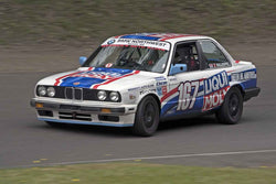 John Gillespie - 1988 BMW 325i in Group 8 at the 2017 SOVREN Pacific Northwest Historicsrun at Pacific Raceways