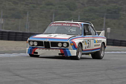 Scott Hughes - 1972 BMW CSL in Group 4A  at the 2016 Rolex Monterey Motorsport Reunion - Mazda Raceway Laguna Seca