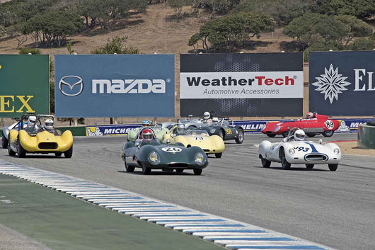 Group 2B  at the 2016 Rolex Monterey Motorsport Reunion - Mazda Raceway Laguna Seca