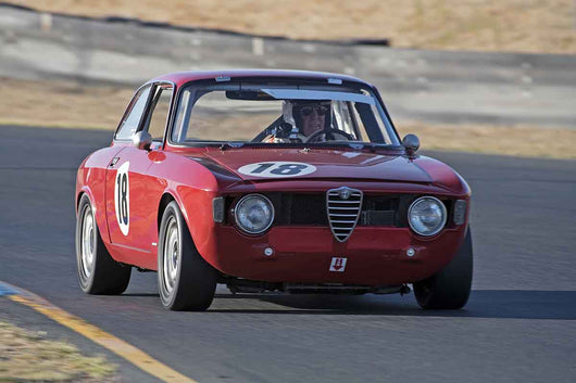 Stephen Chamberlin - 1966 Alfa Romeo Giulia Sprint in Group 2 -  at the 2016 Charity Challenge - Sonoma Raceway