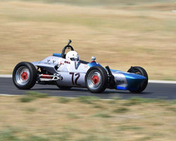Bill Young driving his 1967 Beach Mk2 FV in Group 4 at the 2015 CSRG Thunderhill Rolling Thunder at Thunderhill Raceway