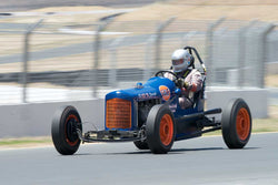 Max Jamiesson with 1935 Ford Sprint Car in Group 1  at the 2016 SVRA Sonoma Historics - Sears Point Raceway