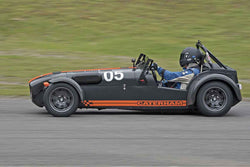 Ian Battye - Caterham R500 in Group 2 at the 2017 SOVREN Spring Sprints run at Pacific Raceways