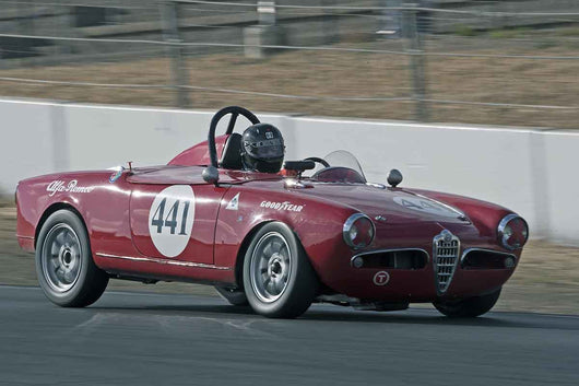 David Buchanan - 1956 Alfa Romeo SPIDER in Group 1 -  at the 2016 Charity Challenge - Sonoma Raceway