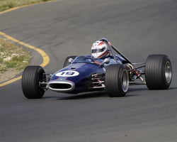 Paul Richins driving his 1967 Brabham BT 21C in Group 6 at the 2015 CSRG David Love Memorial Vintage Car Road Races at Sonoma Raceway