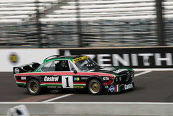 Steve Walker - 1973 BMW CSL - Group 8 at the 2017 Brickyard Vintage Racing Invitational run at Indianapolis Motor Speedway