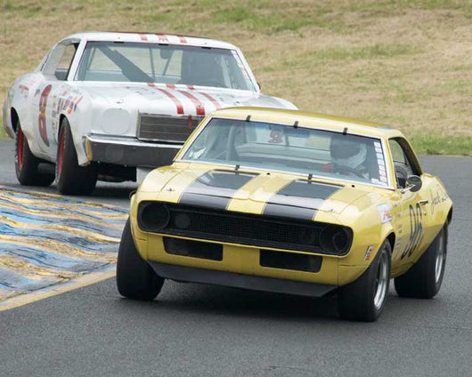 Rick Jeffery with 1967 Chevrolet Camaro Z28 in Group 8 - at the 2016 CSRG David Love Memorial - Sears Point Raceway
