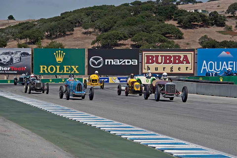 Group 1A - Pre 1940 Sports Racing & Touring Cars at the 2017 Rolex Monterey Motorsport Reunion run at Mazda Raceway Laguna Seca