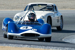 Bob Roth with 1963 Genie in Group 1  at the 2016 HMSA LSR II - Mazda Raceway Laguna Seca