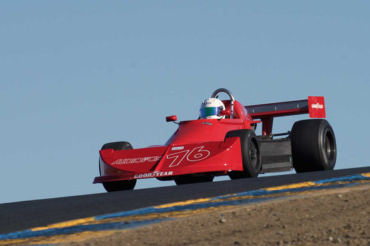 Jack Woodruff - 1976 March 76B in Group 7 -  at the 2016 Charity Challenge - Sonoma Raceway