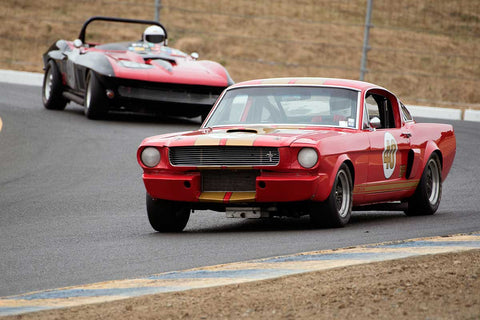 Nick De Vitis with 1966 Shelby GT350 in Group 6 -  at the 2016 SVRA Sonoma Historics - Sears Point Raceway