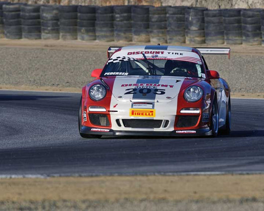 Chris Pedersen with 2010 Porsche GT3 Cup in Group 1 - PCA Sholar-Friedman Cup at the 2015 Rennsport Reunion V, Mazda Raceway Laguna Seca