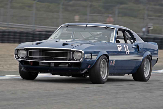 Drew Alcazar - 1969 Ford Mustang Boss 302 in Group 4A  at the 2016 Rolex Monterey Motorsport Reunion - Mazda Raceway Laguna Seca