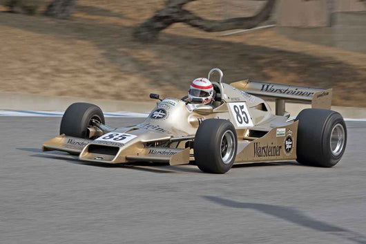 Ron Maydon - 1978 Arrows FA1 in Group 7B  at the 2016 Rolex Monterey Motorsport Reunion - Mazda Raceway Laguna Seca