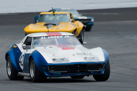 Peter Klutt - 1969 Chevrolet Corvette - Group 6 at the 2017 Brickyard Vintage Racing Invitationalrun at Indianapolis Motor Speedway