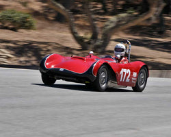 Paul Perry with 1960 Phoenix SAAB H Modified in Group 2B - 1947-1955 Sports Racing and GT Cars at the 2015-Rolex Monterey Motorsport Reunion, Mazda Raceway Laguna Seca