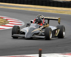 Joe Harding with 1986 Ralt RT3 in Group 9 - Wings and Slicks - Open Wheel Cars 1973-2008 at the 2015 Portland Vintage Racing Festival at Portland International Raceway