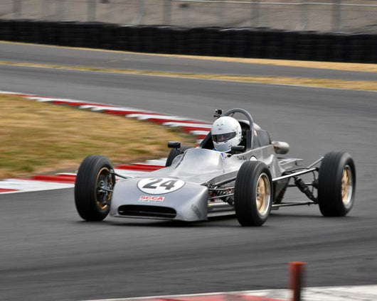 David Reich with 1979 CrosslíÁíÁ 35F in Group 2 - Open Wheel Prior to 1973 at the 2015 Portland Vintage Racing Festival at Portland International Raceway