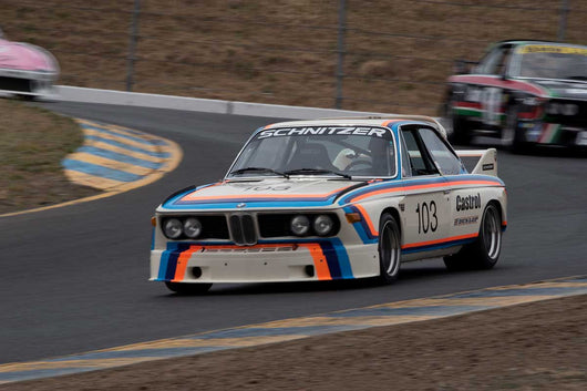 Thor Johnson with 1974 BMW Schnitzer 3.5 Liter in Group 12 at the 2016 SVRA Sonoma Historics - Sears Point
