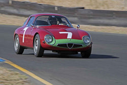 Marnix Dillenius - 1964 Alfa Romeo TZ in Group 1 -  at the 2016 Charity Challenge - Sonoma Raceway