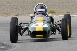 Chris Locke - 1963 Lotus 27 in Group 3 at the 2017 HMSA Spring Club Event - Mazda Raceway Laguna Seca