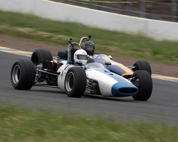 Tom Schnurbusch with 1967 Brabham BT 21B in Group 6 at the 2016 CSRG David Love Memorial - Sears Point Raceway
