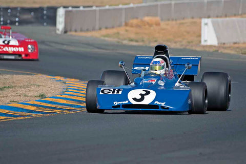 John Delane - 1971 Tyrrell 002 in Group 7 - F1, F5000, Formula Atlantic & FIA Gp 6&7 at the 2017 CSRG Charity Challenge run at Sonoma Raceway