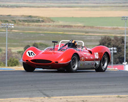 Michael Mac McGarry with 1964 Huffaker Genie MK10 in Group 7 - 1959-1966 Sports Racing and 1964-1970 FIA Cars at the 2015 Sonoma Historic Motorsports Festival at Sonoma Raceway