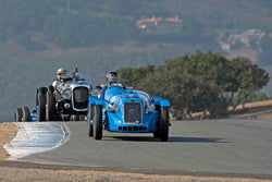 Timothy Mullin - 1946 Delage D6 in Group 2A - 1927-1951 Racing Cars at the 2017 Rolex Monterey Motorsport Reunion run at Mazda Raceway Laguna Seca